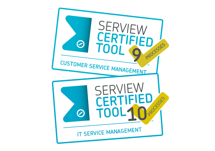 IT Service Management Software SERVIEW CERTIFIED TOOL